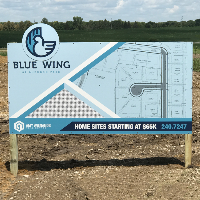 Picture of 36x48 Rigid Signs (PVC)